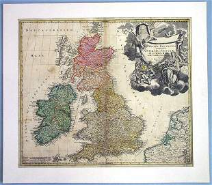 A Map of Great Britain
