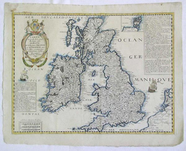 1516: A Map of Great Britain