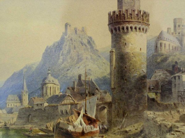 1595: Emil Rieck (German, active 1852- ) - 2