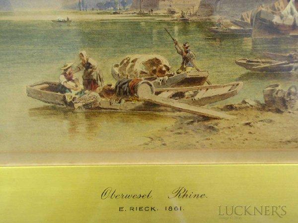 1595: Emil Rieck (German, active 1852- ) - 3
