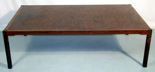 2022: Modern Coffee Table Brazillian Rosewood