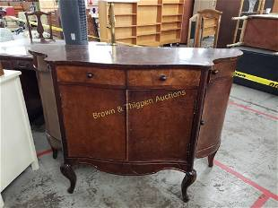 Buffet with swing doors and drawers