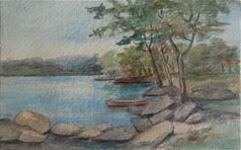 2 WATERCOLOR PAINTINGS 19TH CENTURY