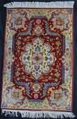 VERY FINE CARPET VINTAGE PERSIAN TABRIZ RUG