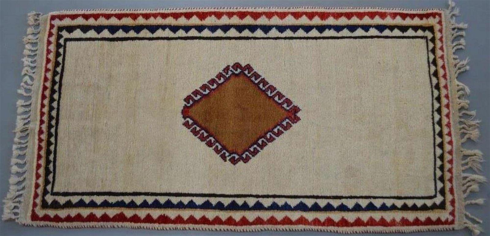 VINTAGE GABBEH MCM PERSIAN CARPET HAND MADE