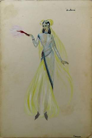 AFTER WALTER COHICK PLUNKETT COSTUME ILLUSTRATION