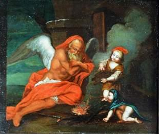 CORNELIS VAN POELENBURGH 1586-1687 PAINTING