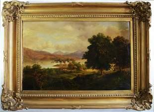 GEORGE VINCENT 1796-1831 LANDSCAPE PAINTING SIGNED