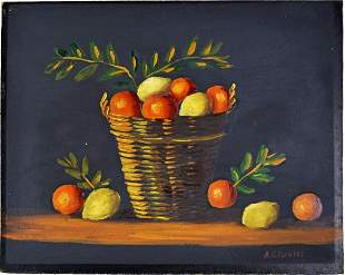OLD MASTER STYLE MODERN STILL LIFE PAINTING