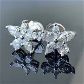 Tiffany & Co. Victoria Large Mixed Cluster Platinum
