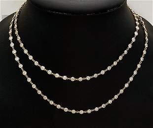Tiffany & Co. Elsa Peretti Diamond by the Yard 14.53tcw