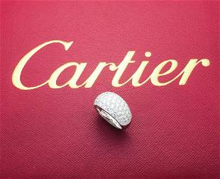 Cartier Etincelle de Cartier 18k  & Diamond Ring Size