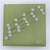 Van Cleef & Arpels Vintage Alhambra 18K White gold