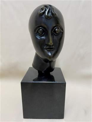 Polish American Bronze Sculpture Elie Nadelman