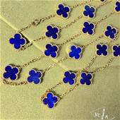 Van Cleef & Arpels Vintage Alhambra Lapis Lazuni 18K