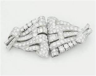 Cartier 1920s Platinum 6.00 TCW VVS/VS Clarity Diamond