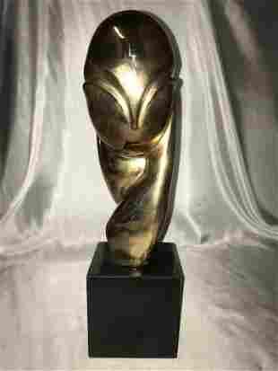 Romanian Bronze Sculpture Constantin Brancusi