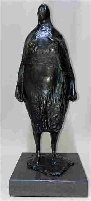 Francisco Zuniga Mexican Bronze Sculpture