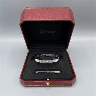 Cartier Love 10 Diamond Bracelet Size 18
