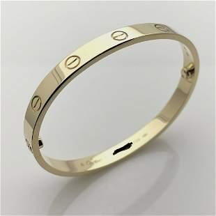 Cartier Love Bracelet Size 17