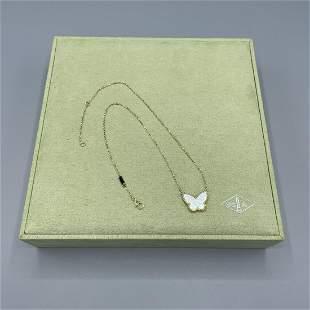 Van Cleef & Arpels Butterfly Pendant Necklace