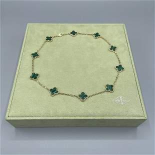 Van Cleef & Arpels Alhambra 10 Motif Necklace
