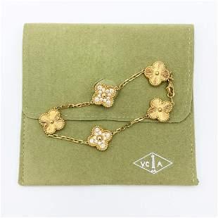 Van Cleef & Arpels Vintage Alhambra Yellow gold and