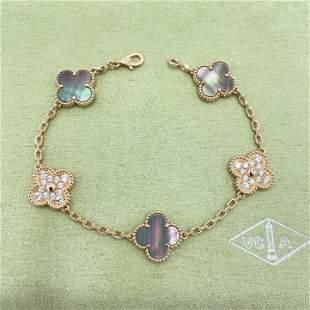 Van Cleef & Arpels Alhambra Mother of Pearl Diamond