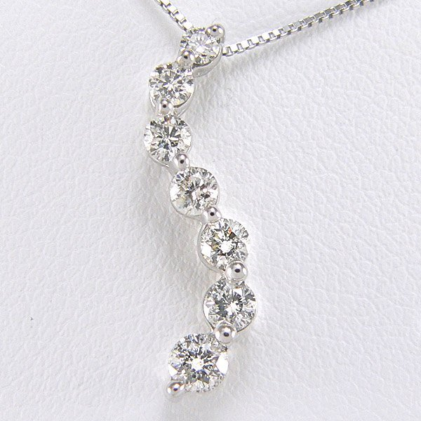 "2020: 14KW JOURNEY DIA PENDANT W/ 18"" CHAIN 0.50CTS"