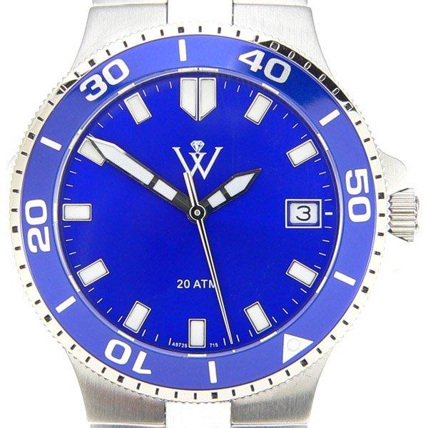 12692: Windsor Mens Yachtsman S-Steel Watch