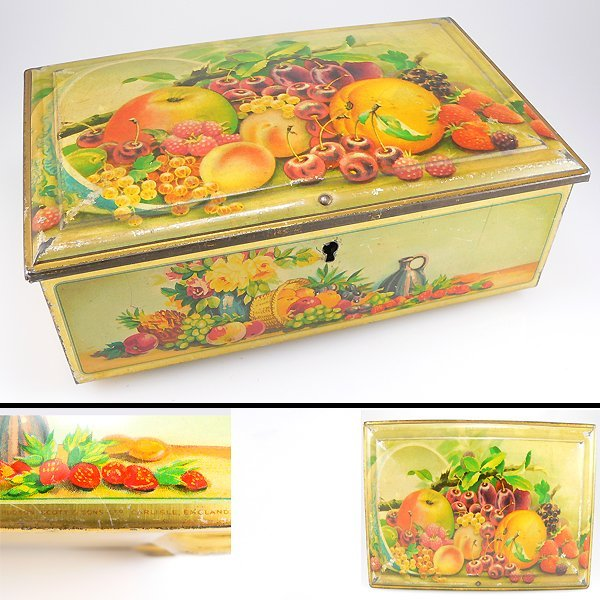 13012: FRUIT LOCK TIN (WITHOUT KEY)