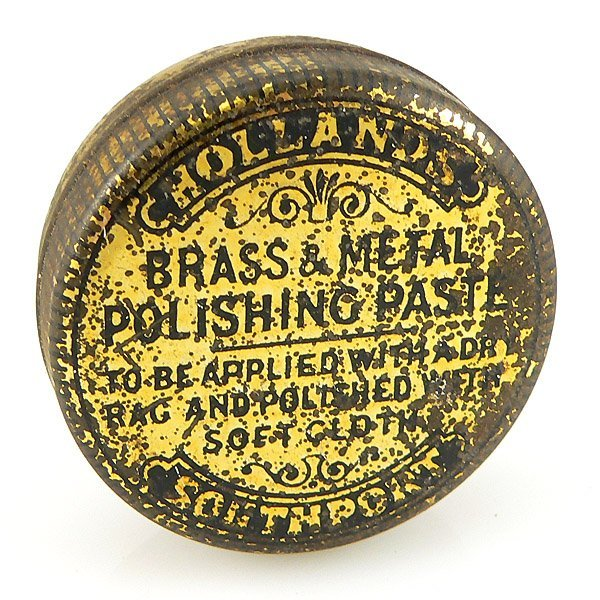 13018: BRASS & METAL POLISHING PASTE TIN