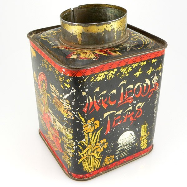 13024: MACLEOD'S TEAS TIN W/OUT LID