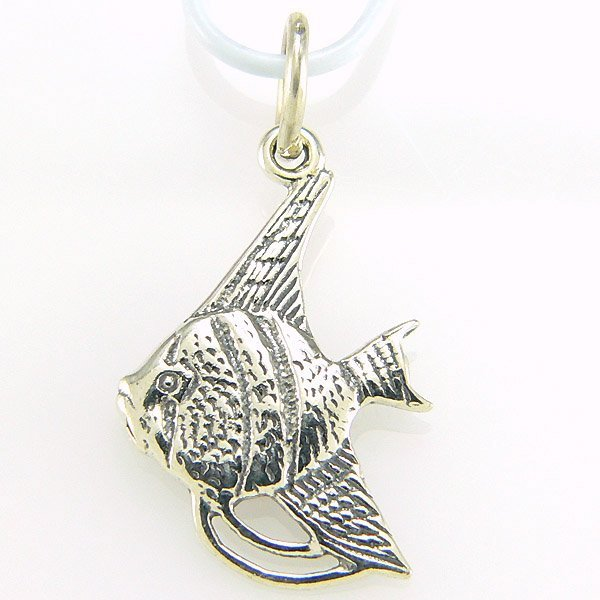 31306: WINDSOR STERLING ANGELFISH CHARM .925 SS