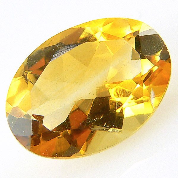 40008: OVAL CITRINE 9X7MM APPROX 1.59CTS