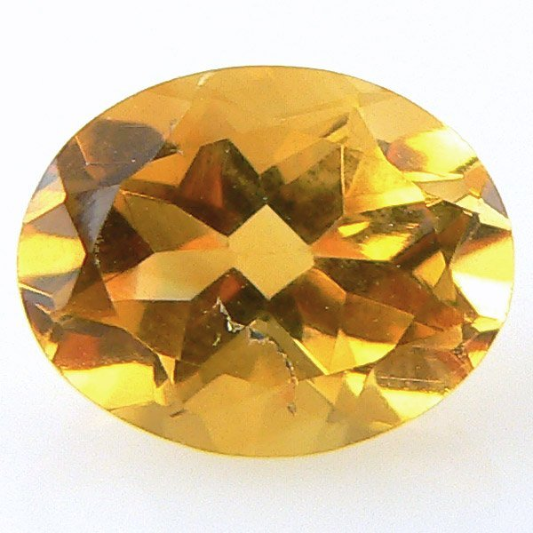 10020: OVAL CITRINE 9X7MM APPROX 1.59CTS