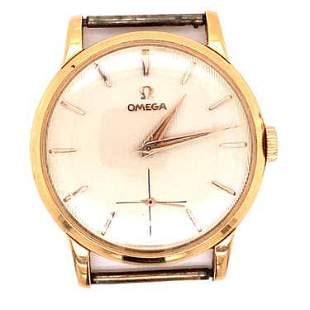 18k Omega Watch