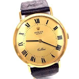 Rolex Cellini 18k