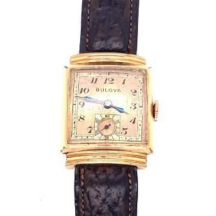 Gold Filled Bulova Watch