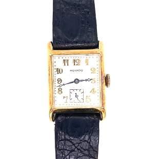 18k Yellow Gold Movado Watch