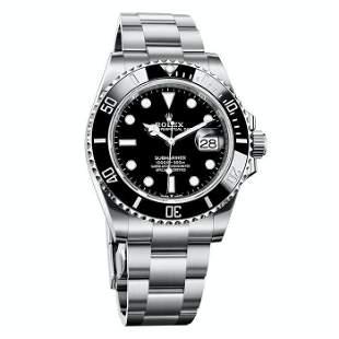 Rolex Submariner Date 41MM Men's Black Watch NEW BOX /