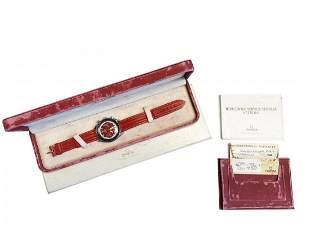 OMEGA Speedmaster Schumacher Red Box & Paper