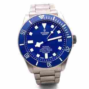 TUDOR Pelagos Titanium Automatic Blue Dial Men's Watch