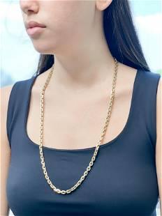 18k Link Necklace