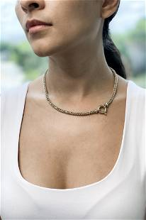 18k Italian Rope Necklace