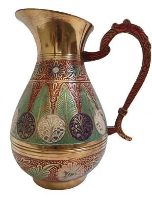 Grand pure brass royal jar