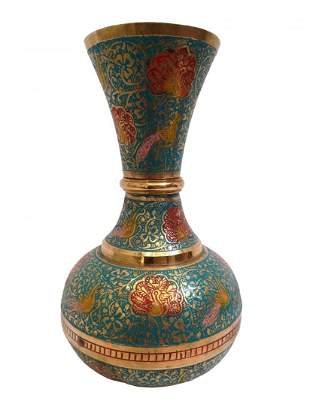Royal and soulful pure brass vase