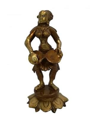 Pure brass statue
