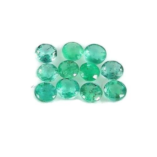 Natural Emerald 1.40 CTS Round Cut 3-3.5 MM Untreated
