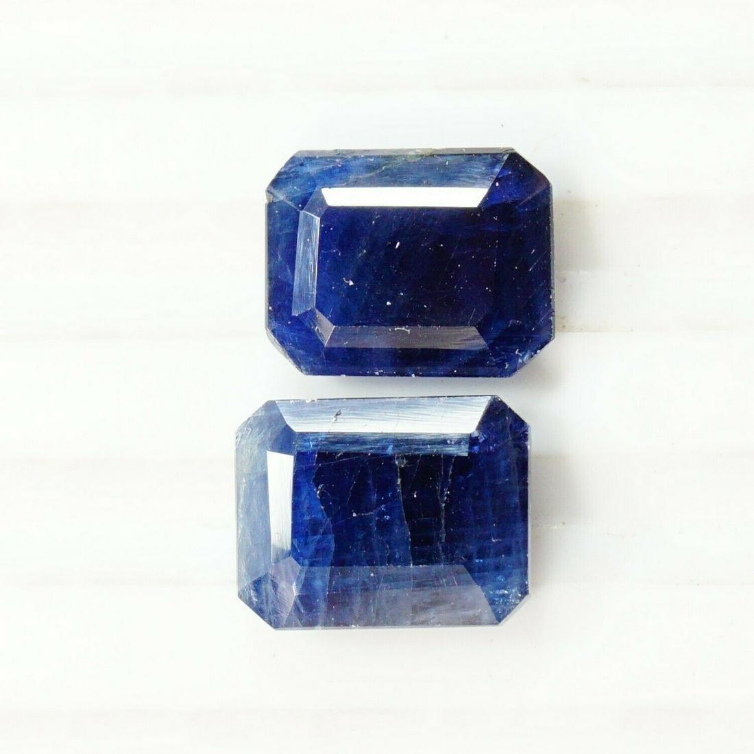 Natural 100% Blue Sapphire 3X7X9 mm 6.00 CTS Octagon